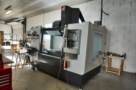 LC Technologies atelier de Fraisage avec HAAS VF4SS
