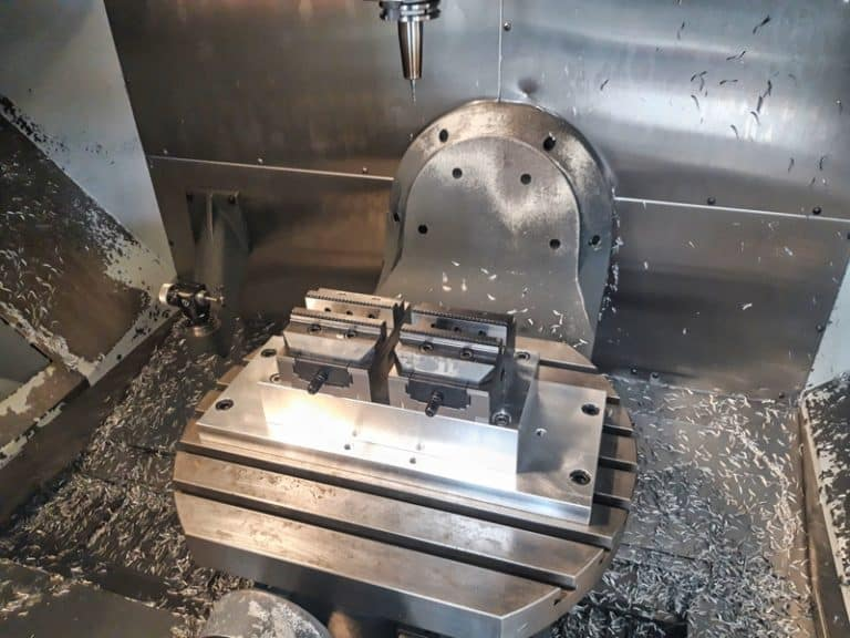 Table de CN 5 axes Haas UMC750